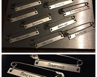 Resistance Safety Pins