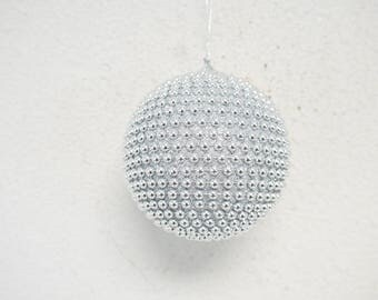 Handmade Ball Ornament with Studs 10cm (Apx.4 inches)