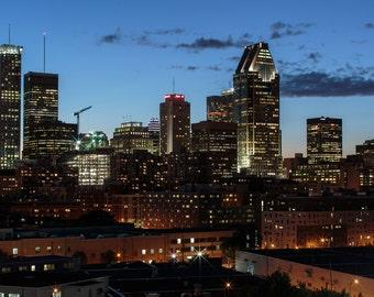 YUL by night - 5 - Cityscape