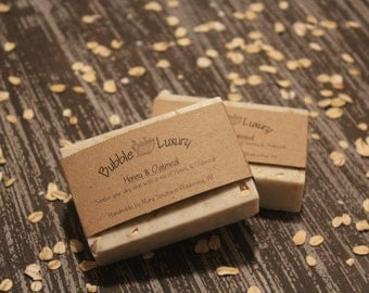 Goats Milk Soap, Honey Oatmeal, Honey, Oatmeal
