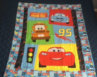 Cars 2 baby quilt