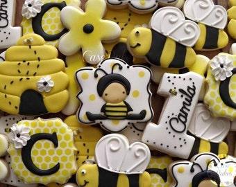 Bumble Bee 1st Birthday - 1 Dozen