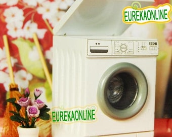 Miniature dolls house modern washing machine