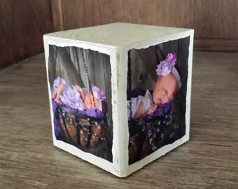 Custom Wood Photo Blocks ~ Photo cubes, Home & Office Decor, Photo Gifts, Photo Blocks