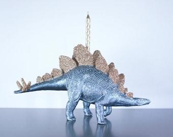 Stegosaurus Birthday Candle Holder, Stegosaurus Cake Topper, Dinosaur Birthday Party, Dinosaur Birthday Decorations, Dinosaur Party Decor