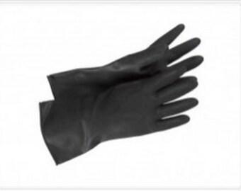 Accurate Trooper Black Latex Gloves Stormtrooper Shadowtrooper