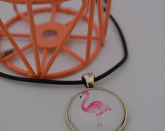 Necklace Flamingo