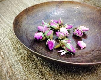 Copper Soap Dish & Hamam Bowl. Handmade. Aadya Ayurveda