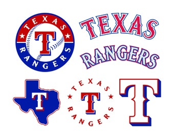 Texas Rangers Cut Files, Texas Rangers SVG Files, Texas Rangers SVG Cutting Files, Texas Rangers Cuttable SVG File, Instant Download
