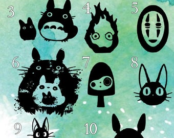 Studio ghibli decals, Decal Only!