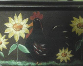 Flowers  and Chicken