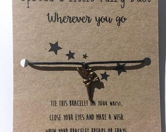 "Wishing Bracelets. ""Spread a little fairy dust wherever you go"""