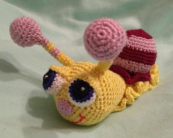Crochet Snail, Crochet Doll, Amigurumi Snail, Amigurumi Crochet Snail