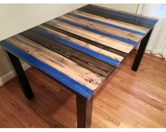 Rustic table Distressed table Kitchen Table