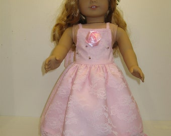 """american girl doll """"Will you be my flower girl"""" dress"""