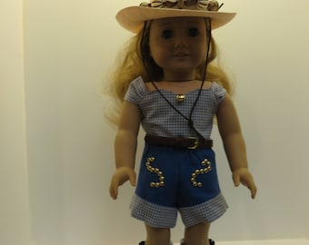 """American Girl Doll and Other 18"""" Dolls Western Wear"""