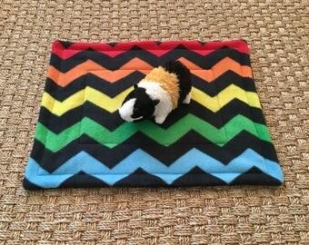 Guinea Pig Fleece Lap Pad Cuddle blanket