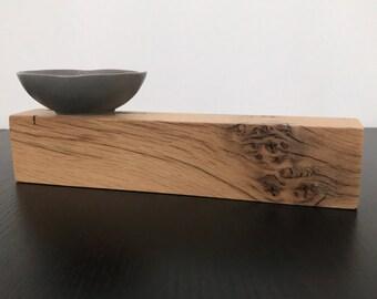 Reclaimed Barn Wood Block, Objet d'art, Paperweight, 1 pieces