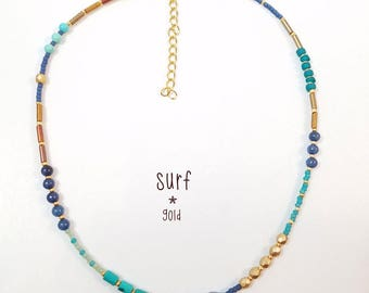 STRAND Beaded Choker SURF
