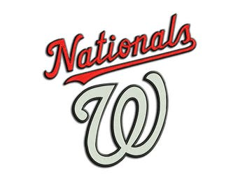 Nationals embroidery design - Machine embroidery design