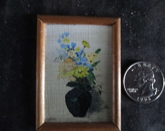 miniature painting, doll house accessories