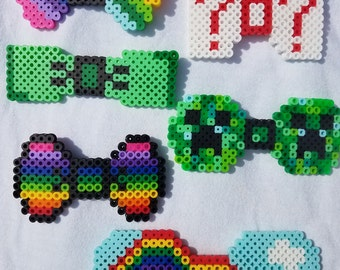 Bow ties of beads