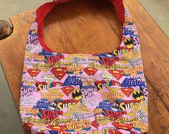 Superhero Slouch Shoulder Bag
