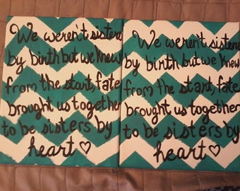Canvas twins for you & your bestie