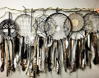 7 dream catchers Together!