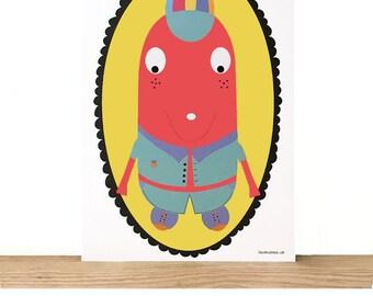 Children's illustration the blade