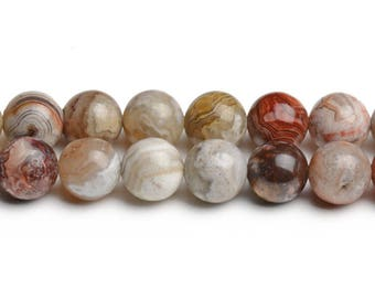 8mm mexican agate round beads mexican crazy lace agate mexican beads semiprecious stones genuine color beads A grade gemstone earth gemstone