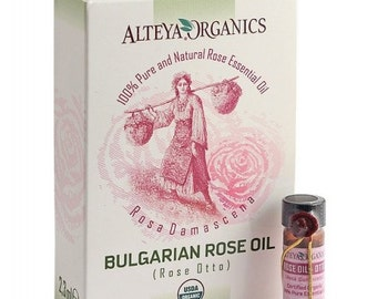 100% Bio Organic Bulgarian Rose Oil 2.2ml