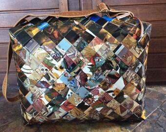 Unique (esoteric) cross body purse