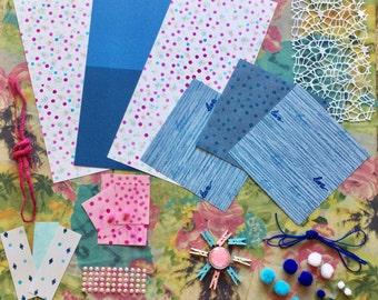 Paper fantasy Kit Pink/Blue 50pcs