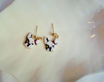 dog earrings / dog jewellery / dog earrings/ dog jewellery