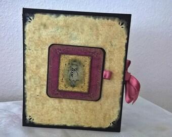 Gorjuss Girl  Handmade Scrapbook Photo Album