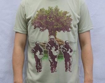 Soldiers of Peace T Shirt Artwork, Make Art Not War