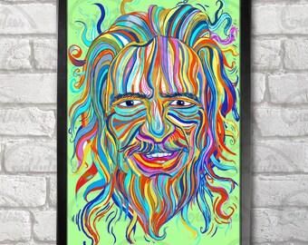 Alan Watts Poster Print A3+ 13 x 19 in - 33 x 48 cm  Buy 2 get 1 FREE