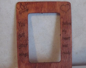 Personalized 4x6 Picture Frame