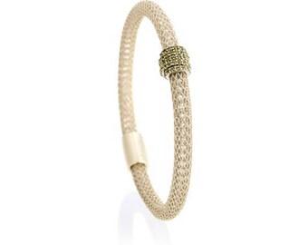 Sage on Ice Gold  Eccellenté Bracelet