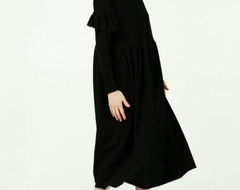Handmade ruffles dress