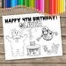 6 Ghostbusters Coloring Pages, Ghostbusters Birthday Party favor, Ghostbusters Party Activity, Slime Birthday Personalized Coloring