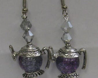 Teapot Earrings E30