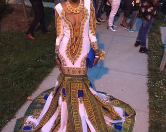 African women clothing, dashiki dress, prom dress, wedding dress, African women fashion