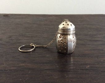 Sterling Silver tea Infuser Steeper /  Steeper / High Tea / Tea Cup / Acorn Shape