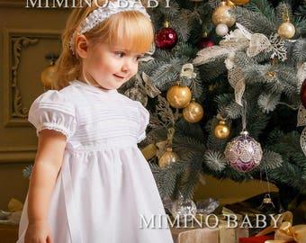 SHARLOTTE Special occasion dress, flower girl dress, christening dress, girls first birthday dress, baby girls lace dress, baby party dress