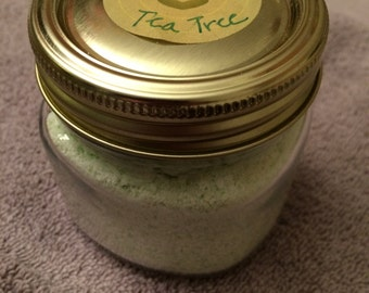 Tea Tree Fizzy Bath Salts