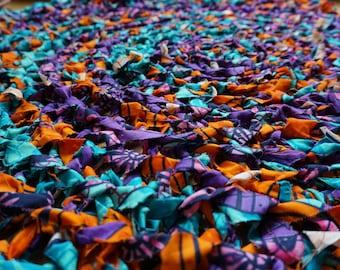 Purple Print Rug