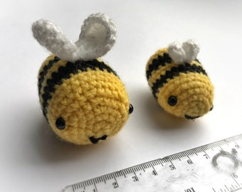 Pair of Amigurumi Bees