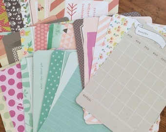 Project Life Destash-5th and Frolic 25 4x6 Journaling Cards